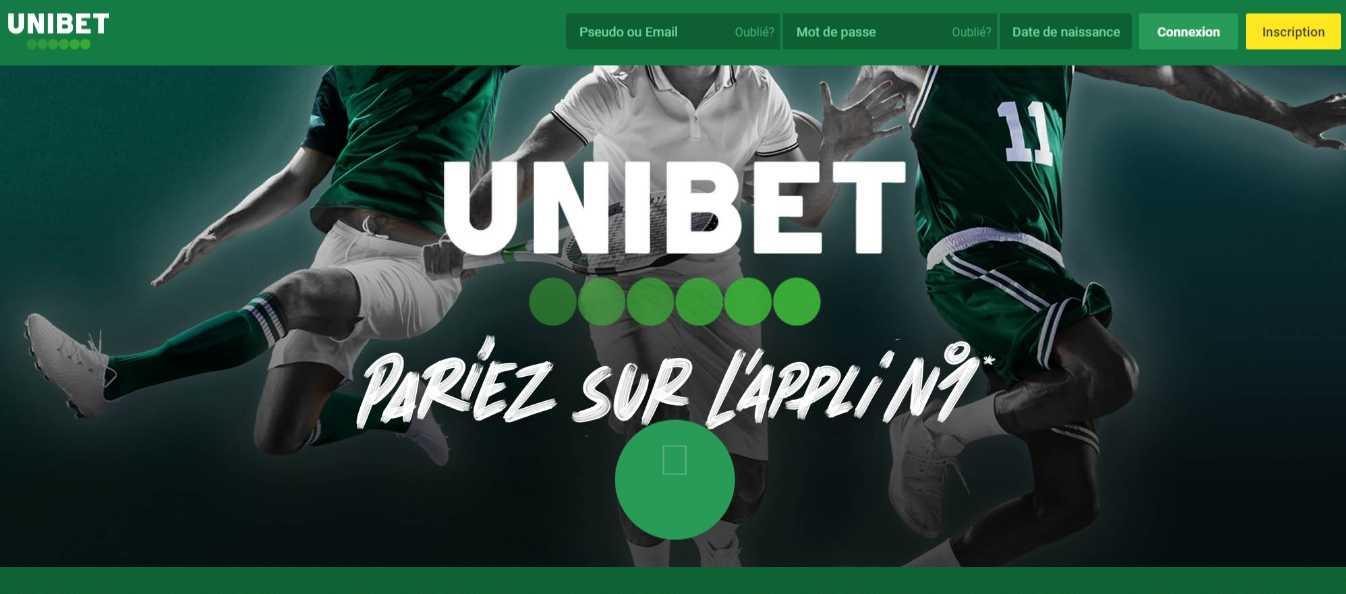 prévisions sportives actuelles sur Unibet